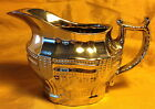 #2 Antique 1840s English SILVER LUSTRE Creamer/Gravy Pitcher: Poor Man's Silver