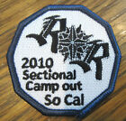 Sectional Campout 2010 So Cal California Royal Ranger Uniform Patch