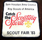 CATCH THE SCOUTING SPIRIT SCOUT FAIR 1983 BSA BOY SCOUT UNIFORM PATCH