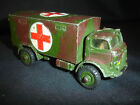 Old Vtg Dinky Toys Military Ambulance 626 Diecast Toy Truck Gt Britain