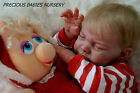 PRECIOUS REBORN BABY DOLL GIRL FROM SOLD OUT KIT BELLA ANDREA ARCELLO MIMADOLLS