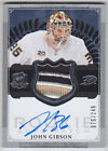 13-14 John Gibson The Cup RAP Rookie Auto 4C Patch 75 249 RC