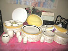 VINTAGE 66 PIECES. FLINTRIDGE CHINA TABLEWARE  FOR 12 PERSON.
