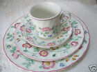 Churchill Fine English Tableware Briar Rose Pattern 4 Piece Place Setting Mint