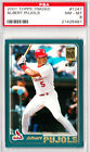 2001 Topps Traded ALBERT PUJOLS #T247 PSA 8 NM-MT St. Louis Cardinals RC Rookie