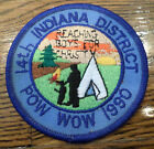 Indiana District Pow Wow 14Th 1990 Royal Ranger Uniform Patch