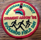 Michigan District Straight Arrow 1988 Field Day Royal Ranger Uniform Patch