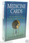 MEDICINE CARDS  BOOK SET HEAL THE BODY EMOTIONS MIND SPIRIT POWER FROM ANIMALS