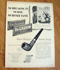 1947 Grabow Pre-Smoked Pipes Ad