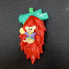1995 Hallmark Feliz Navidad Mouse in Red Hot Chili Pepper Christmas Ornament