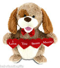 Cuddle Barn Animated Puppy Love Plush Toy Sings