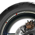 8 x SUZUKI M1800R INTRUDER WHEEL RIM STICKERS - m 1800 r -B