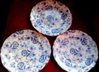 Three Vintage Royal Tunstall England  Dinner Plates 10.5