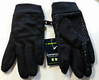 NORDICTRACK Black Datatouch Everyday Gloves Textured Palm Grip Sz L 9