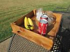 Rustic Large Oak Serving Tray Reclaimed Recycled Pallet Wood Centerpiece