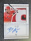 2014 National Treasures BILLY HAMILTON Rookie Auto Patch Card #1 99!! 3 COLOR!