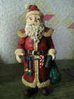 House of Lloyd Christmas Around the World: 11-in GRANDPA'S SANTA (retired, MINT)