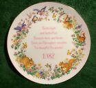 Designer's Collection Spring Miracles 1982 Tiny Talk Plate Limited Edition Gold