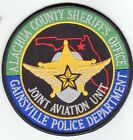 POLICE PATCH ALACHUA COUNTY FLORIDA SHERIFF & GAINESVILLE JOINT AVIATION UNIT