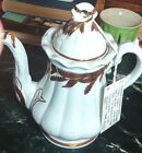 Tunstull Ironstone Copper Luster WheatTeapot Elsmore Forster Ceres1859 excellent
