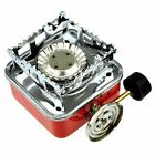 Outdoor Camping Picnic Gas-Powered Portable Card Type Stove Butane Burner K-202