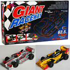AFX Giant Raceway Electric Ho Slot Car Race Set MegaG+ Tri Power 21017