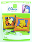 Winnie the Pooh DISNEY Home Leisure Arts Booklet #1989 FLEECE FLOOR PILLOWS 9389