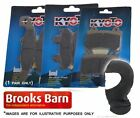 MOTORHISPANIA Duna125 Dual Plus Trail 2008-10 Kyoto Rear Brake Pads + Balaclava