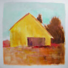 ORIGINAL Farm Landscape Painting  JMW art  John Williams Modern Barn scene