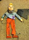 Nice girl woman old maid marionette puppet 12