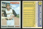 (32840) 1970 Topps 350 Roberto Clemente Pirates-EM