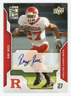 2008 Upper Deck Draft Edition Ray Rice RC Auto Rutgers Baltimore Ravens