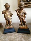 Vintage Borghese BOY and Girls FIGURINES STATUES- purchased in 1950's