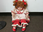 MORIE OSMOND 2002 PORCELAIN 21 INCH DOLL 923/2500 GREAT CONDITION REDHEAD !!!!