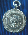 Vintage Sterling Silver Medal / Fob  - Table Tennis 1936 - not engraved