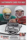 2012 PRESS PASS FANFARE FOOTBALL 20 BOX LOT - 20 AUTOGRAPHS !