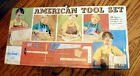 ALL-STAR TIOOLS Child's Tool Box/ Case. AMERICAN TOOL SET CHICAGO USA 1960s