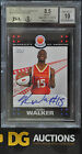 2008 Topps Mcdonalds All American Kemba Walker Rookie BGS 8.5 W10 Auto Signed RC