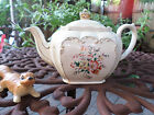 Vintage Sadler England Tea Pot~Multi Colored Floral Design