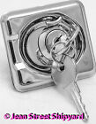 Boat Marine Stainless Locking Lift Ring Hatch or Cabinet Pull Latch