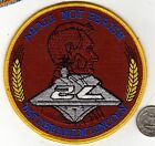 US Navy Squadron Naval Ship Patch USS ABRAHAM LINCOLN Aircraft Carrier wheat