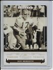 don meredith 2006 donruss classics timeless tribute gold 21 25
