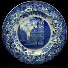 Harvard University Wedgwood Blue 1927- Mower Hall Holden Chapel Plate