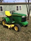 John Deere 345 Lawn and Garden Tractor 48 in Deck Mower Power Steering Nice