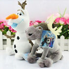 22CM Olaf 16CM Sven Cartoon Movie Frozen Olaf and Sven Snowman Plush Toy Frozen