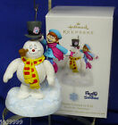 Hallmark Ornament Frosty the Snowman Comes to Life 2012 Pull String Motion NIB