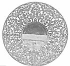 Antique Mermod Jaccard & King Co. Solid Sterling Silver Plate 637S 17.25oz