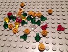 New // Lego Lot Of 32 Treasure Pieces / Jewels / Pirate / Gold / Castle / Mixed