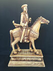 Antique Chinese rider on horse. Emperor ?