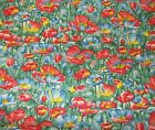 2 yards Hoffman Cottage Garden Screen print sewing fabric 43